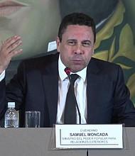 MUNDO. Samuel Moncada, embajador representante de Venezuela ante las Naciones Unidas