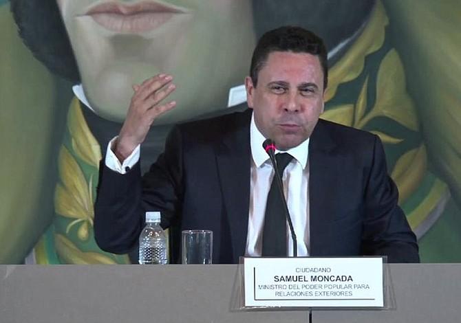 Samuel Moncada dice que elecciones en Venezuela tienen garantías democráticas mediante una carta