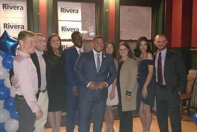 Amaad Rivera lanza su campaña al Senado estatal por el distrito de Hampden