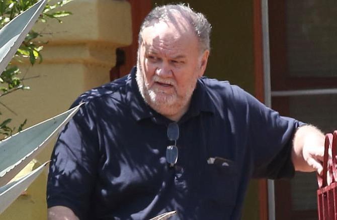 Confirman que padre de Meghan Markle no asistirá a la boda real