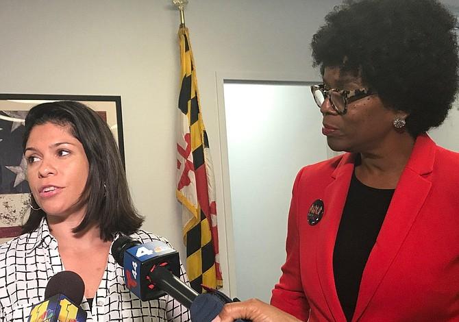 Ervin elige a Marisol Johnson, ex miembro de la junta escolar del condado de Baltimore, como compañera de campaña
