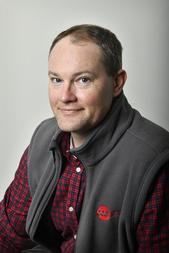 James Taylor, enfermero especialista de Commonwealth Care Alliance