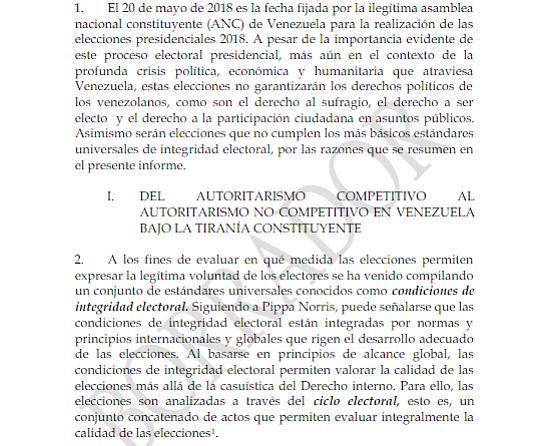 ELECCIONES. Venezuela se prepara para llevar a cabo el 20 de mayo un nuevo proceso electoral
