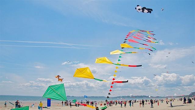 Revere Beach Kite Festival