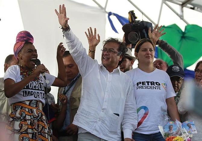COLOMBIA. Gustavo Petro desde el norte de Cali