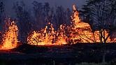 Foto referencial del volcán Kilauea en Hawái