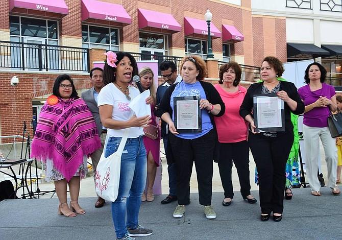 Treinta mujeres inmigrantes de Latinoamérica expusieron sus emprendimientos en Silver Spring