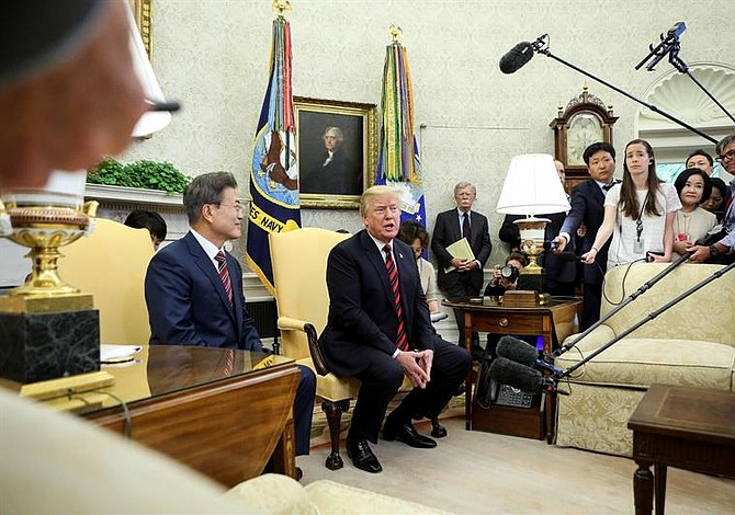 Trump confirma que cumbre con Kim Jong Un podría ser pospuesta