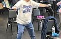 Rosie Cortez, de 66 años, abuela de dos, decidió tener más actividades luego que un ataque al corazón la estimuló a perder peso y a hacer más ejercicio.