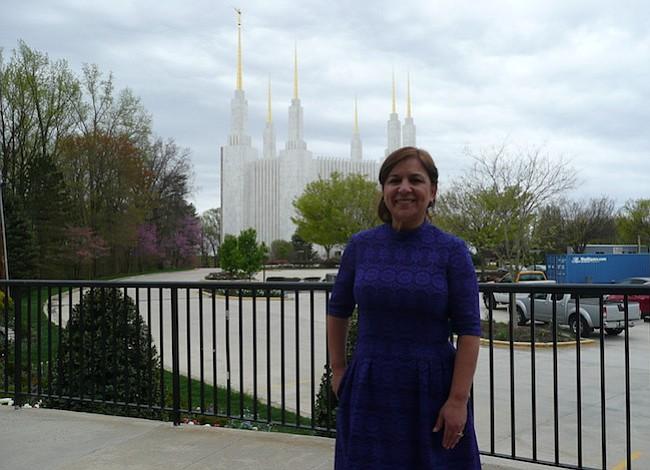 El Templo Mormon cerrado por 2 años