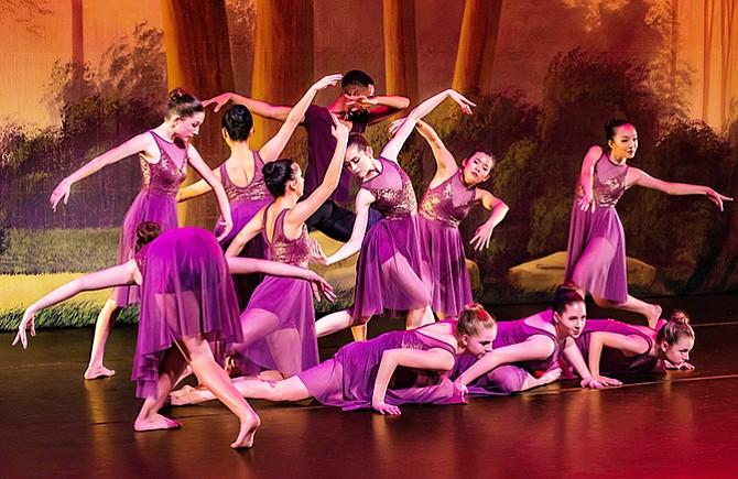 Ballet bajo las estrellas
