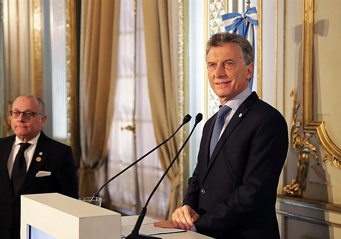 Detectan quiste pancreático a presidente argentino Mauricio Macri