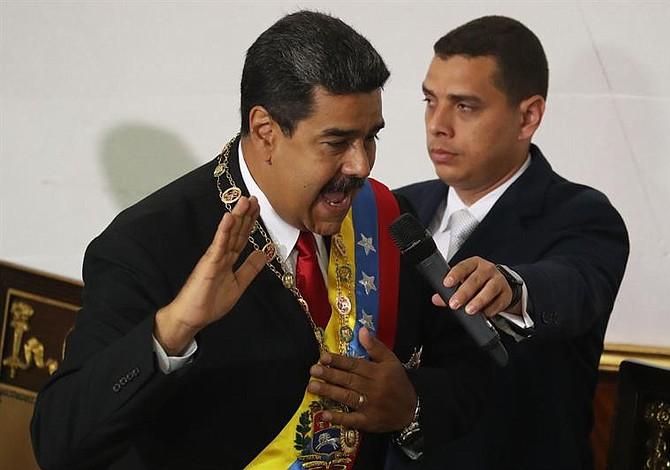 Maduro se juramenta ante la ANC Cubana como presidente reelecto de Venezuela