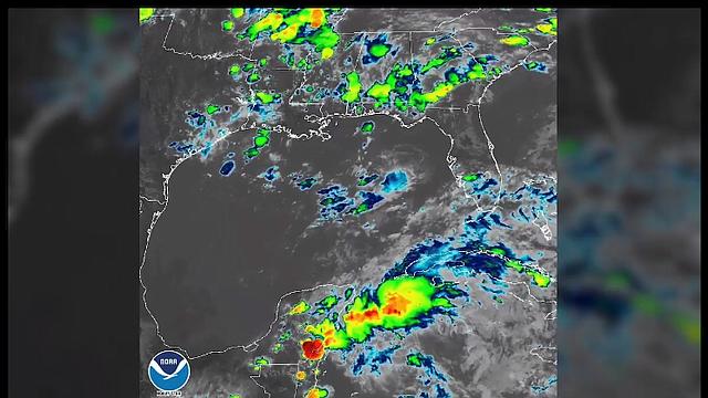 FLORIDA. Es difícil predecir la trayectoria del fenómeno