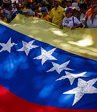 VENEZUELA. Ciudadanos marchan hacia la sede de la OEA el 16 de mayo contra el proceso comicial del 20
