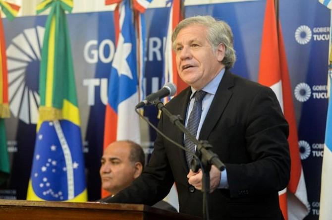 RECHAZADO. Consideran que Almagro apoya a Daniel Ortega