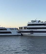 EEUU. Los dos barcos involucrados tienen 111 y 95 pies de largo