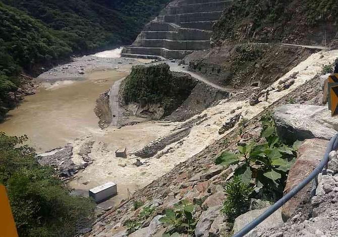 Colombia: Confirman filtraciones de agua en el muro de la presa de Hidroituango