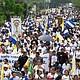 MOVILIZACIÓN. La oposición nicaragüense espera la salida del presidente Ortega