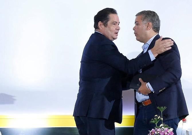 Partido colombiano entrega a Duque el programa de gobierno de Vargas Lleras