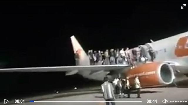 INDONESIA. Confusión en el aeropuerto de la isla de Borneo dejó 11 personas heridas