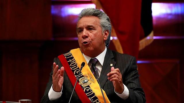 LATINOAMÉRICA. Lenín Moreno, presidente de Ecuador