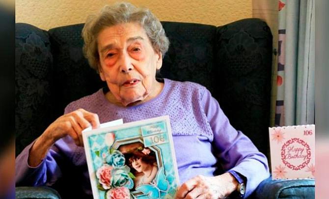 """""""Cero hombres"""": el secreto de una mujer de 106 años para una larga vida"""
