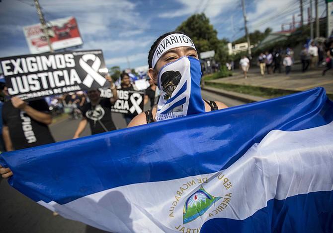 Al menos 102 personas han muerto en Nicaragua por la represión de Ortega