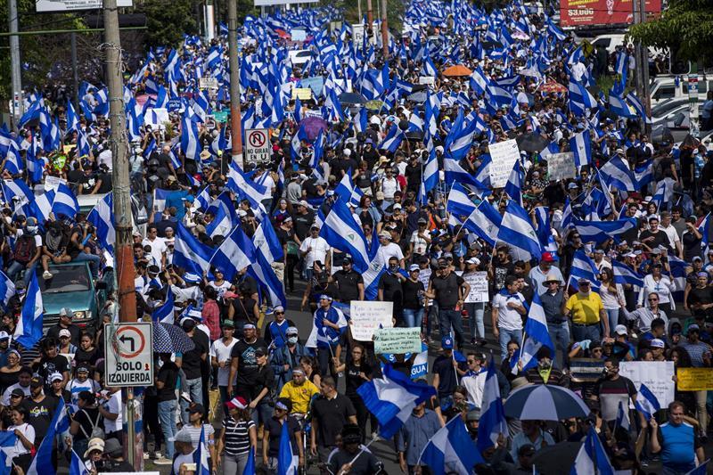 NICARAGUA. Marcha de este miércoles 30 de mayo por las Madres de Abril