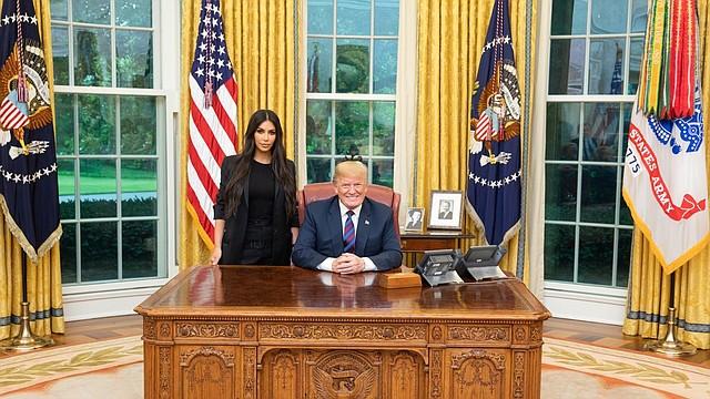CASA BLANCA. Donald Trump compartió una foto del encuentro en las redes sociales