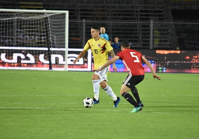 Colombia se apoya en el regreso de James para enfrentar a Estados Unidos