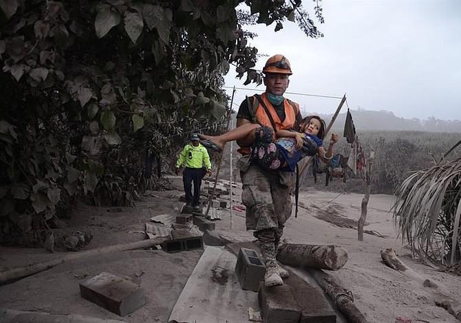 Guatemala: Erupción del volcán deja 1.7 millones de afectados