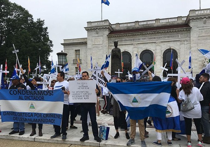 Organizaciones desde Washington solicitan a la OEA brindar las garantías necesarias para proteger a los nicaragüenses