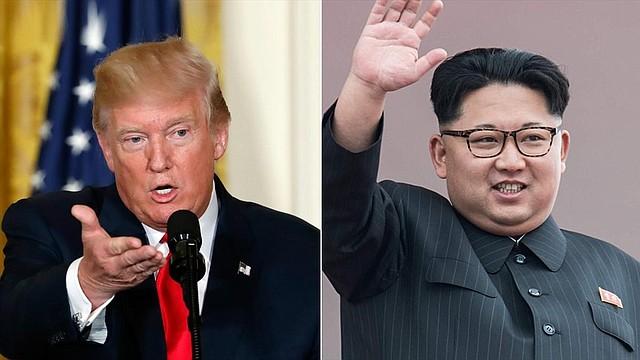 EEUU. Presidentes Donald Trump y el mandatario norcoreano Kim Jong Un