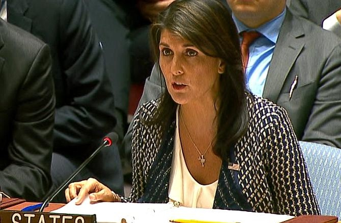 Nikki Haley: Ortega ya ha matado a más inocentes que Maduro en Venezuela