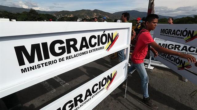 COLOMBIA. Ciudadanos venezolanos siguen cruzando el Puente Internacional Simón Bolívar hacía Colombia para buscar una mejor vida