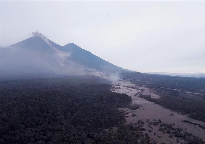 Volcanes de El Salvador con actividad normal
