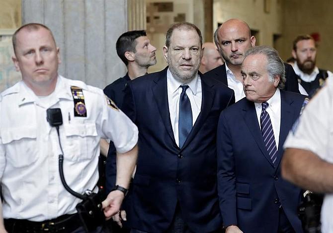 Harvey Weinstein se declaró inocente