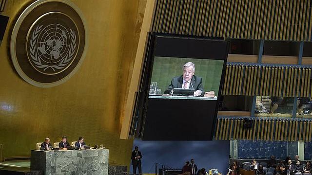 JUSTICIA. Asamblea General de la Organización de Naciones Unidas pide a Trump dejar su política migratoria contra los niños