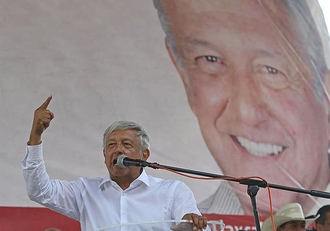 """López Obrador no habló del muro con el presidente Donald Trump: """"Hay temas prioritarios"""""""