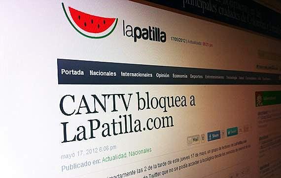 VENEZUELA. Portal digital venezolano La Patilla