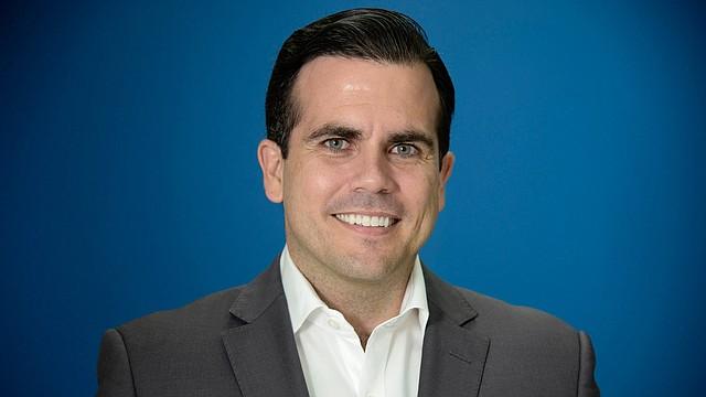 Ricardo Rossello, gobernador de Puerto Rico