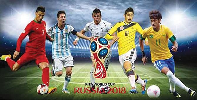 MUNDIAL RUSIA 2018. Las selecciones candidatas al título