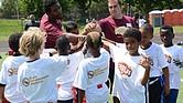 Campamento de fútbol americano de la Fundación Gosder Cherilus (GCF)
