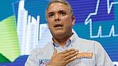 COLOMBIA. Candidato por el partido Centro Democrático a la presidencia de Colombia, Iván Duque