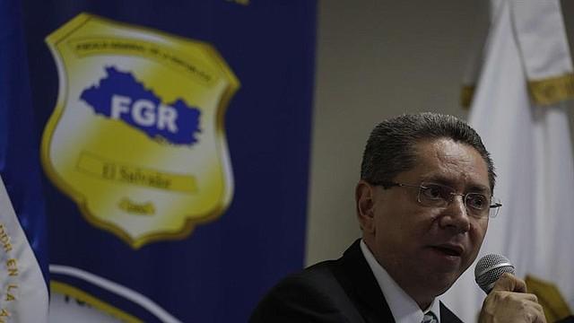 CORRUPCIÓN. El fiscal general de El Salvador, Douglas Meléndez