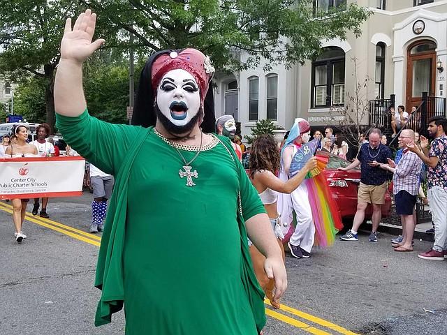 D.C. Desfile por el Mes del Orgullo en Washington