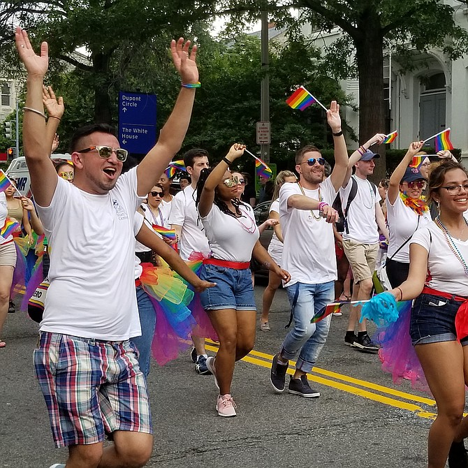 Desfile del Orgullo Gay en Washington D.C.