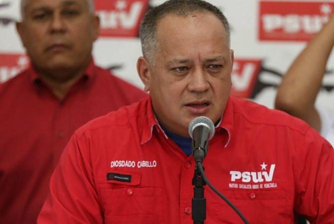 Estados Unidos habría confiscado $ 800 millones de Diosdado Cabello