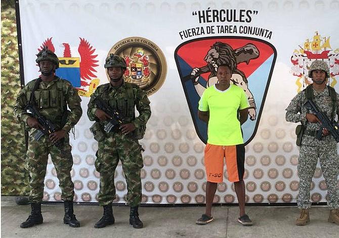 """Capturan en Colombia a hermano de alias """"Guacho"""", jefe de disidencia de la Farc"""